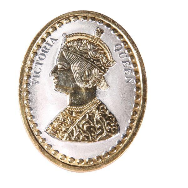 Rmp Jewellers Silver Coin Oval Victoria