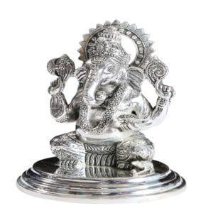 Rmp Jewellers silver Ganesh Ji